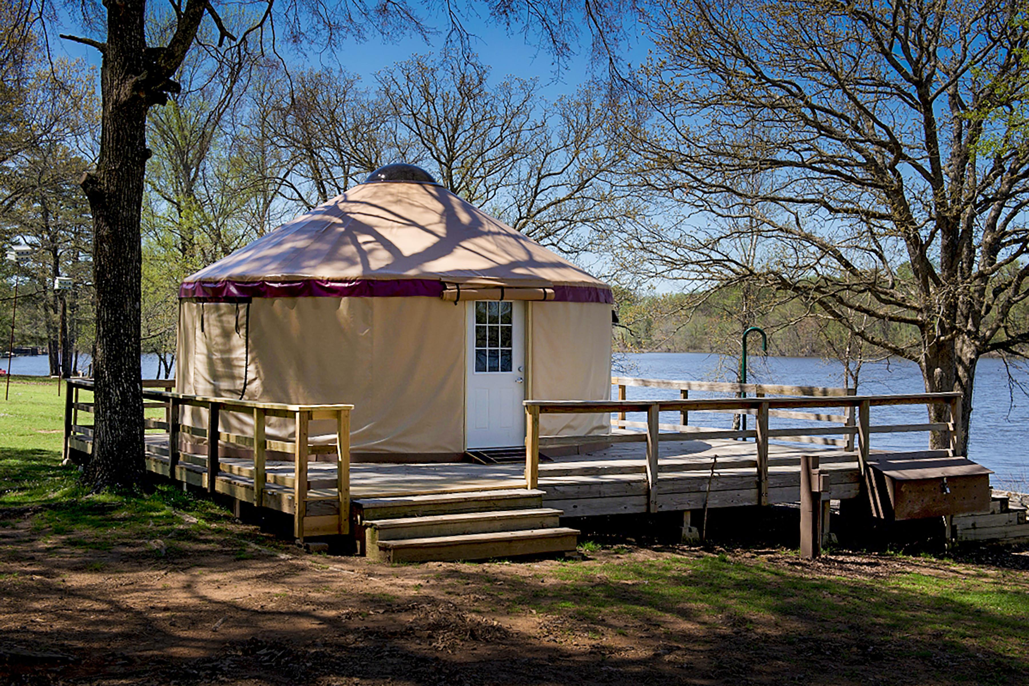 Rent A Yurt At Petit Jean State Park Arkansascom