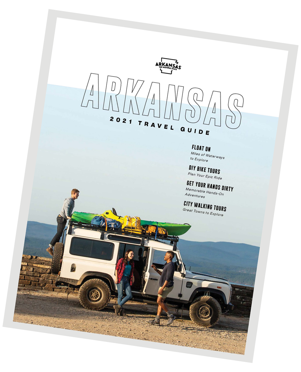 Plan your trip to Arkansas with the 2021 Travel Guide