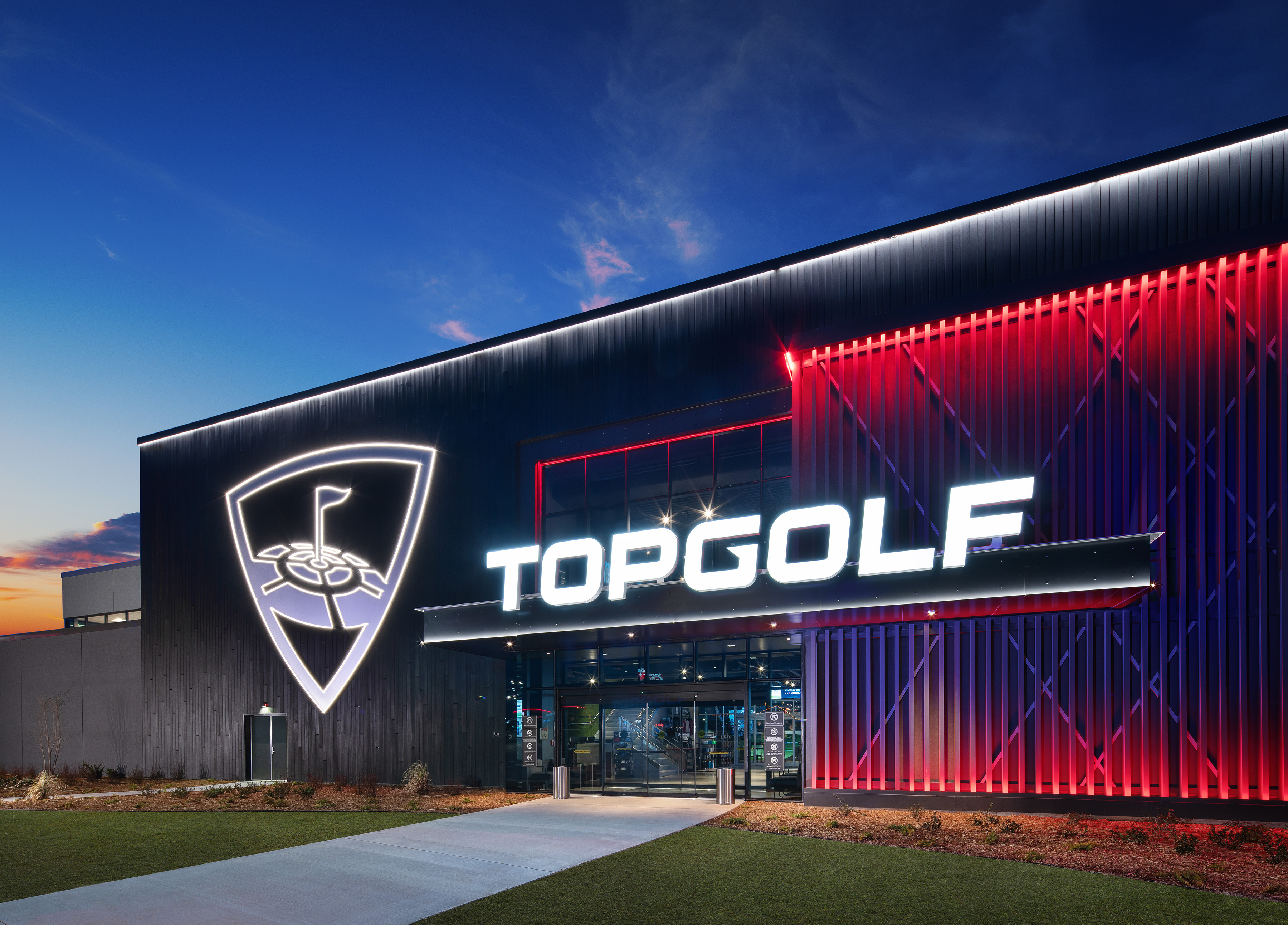 Top Golf in Rogers Arkansas