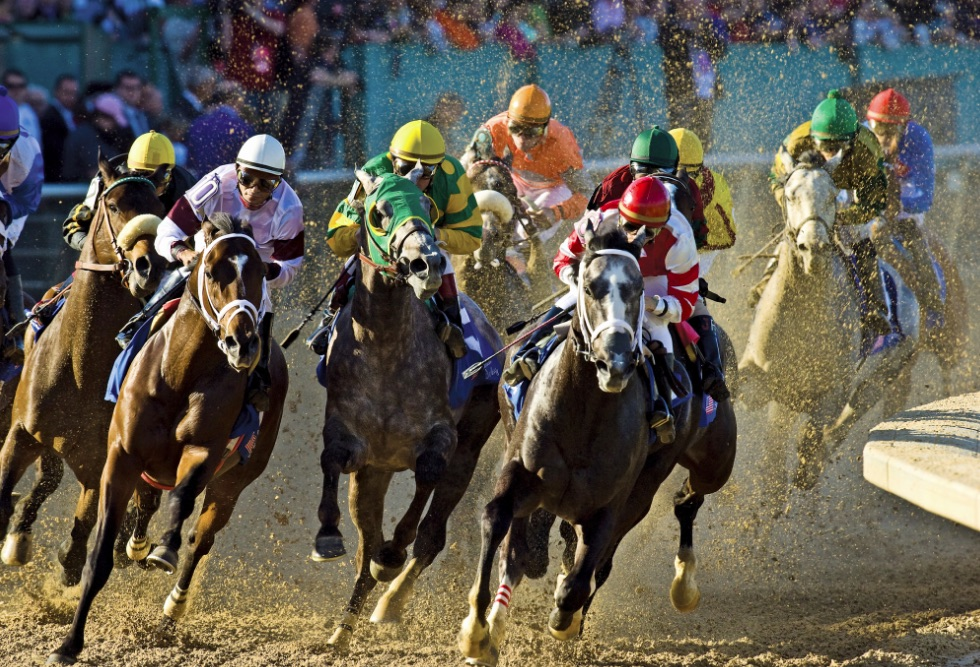 Live racing at Oaklawn in Hot Springs