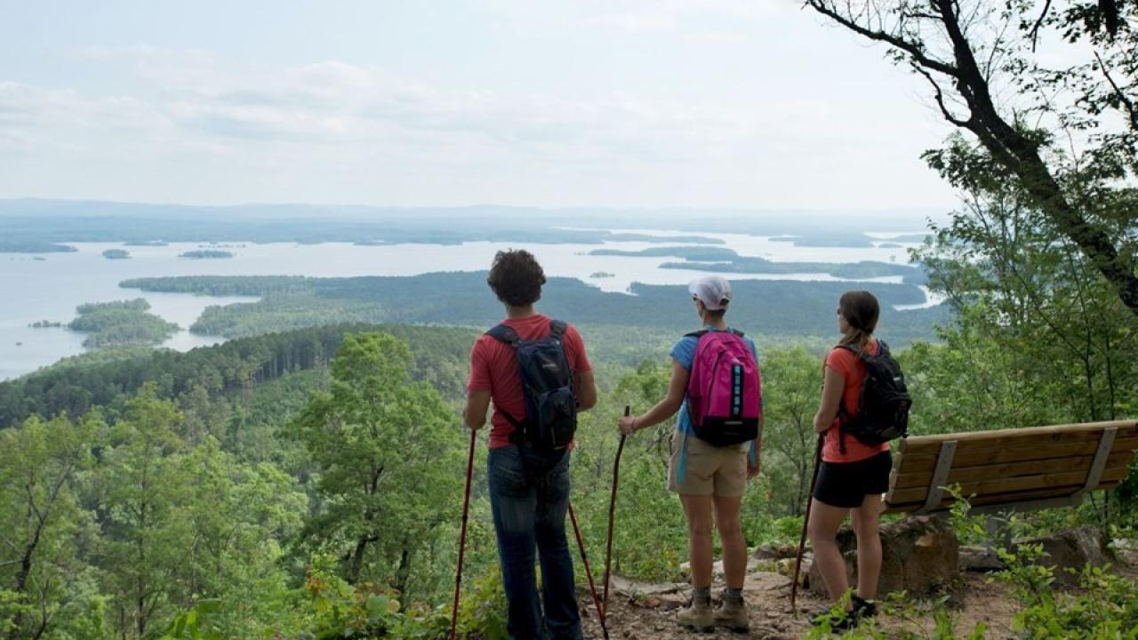 Lake Ouachita Vista Hiking Trail
