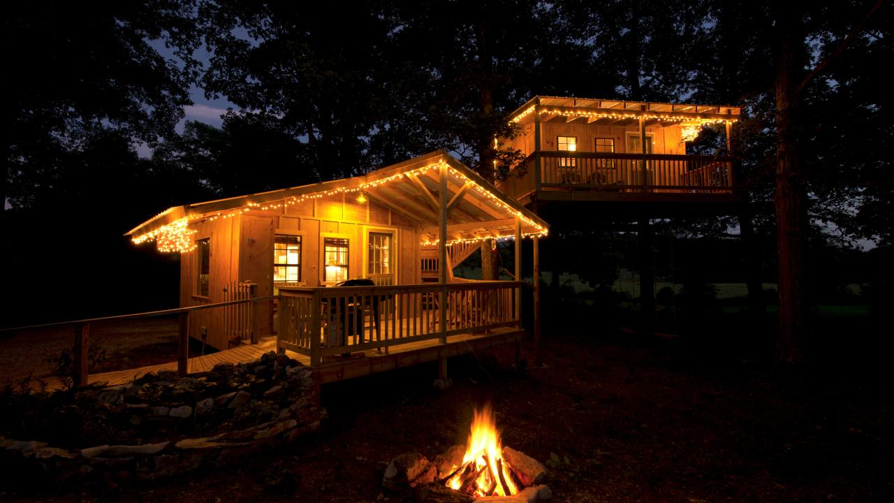The Firefly Cottage at Shady River Getaway