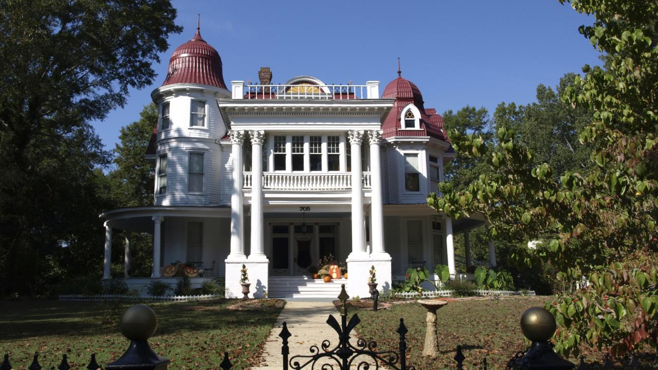 The beautiful Allen House is believed by some to be the most haunted house in America