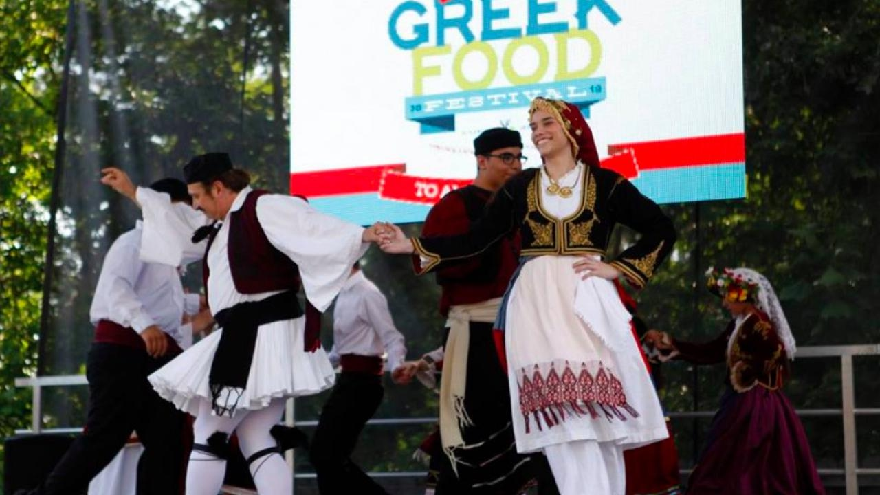 The International Greek Food Festival takes place every year in Little Rock