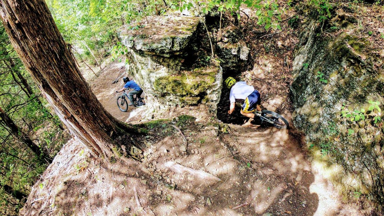 Eureka Springs mountain biking trails