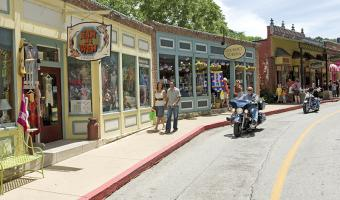 Eureka Springs Arts and Heritage Motorcycling Route