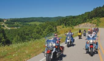 Harrison to Eureka Springs Back Roads Run