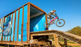 The Railyard Bike Park in downtown Rogers