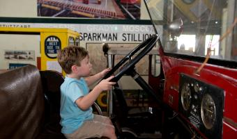 Arkansas Train Museum in Pine Bluff, Arkansas