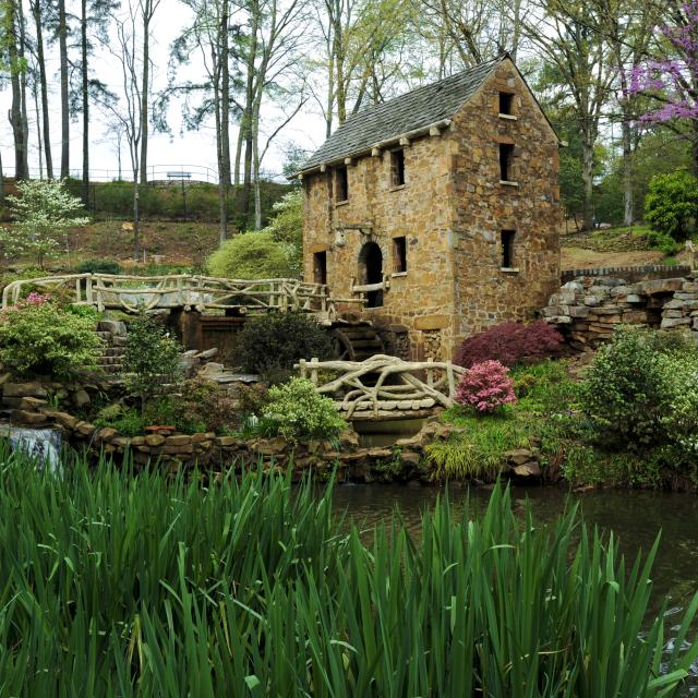 Old Mill, T.R. Pugh Memorial Park, North Little Rock, Arkansas