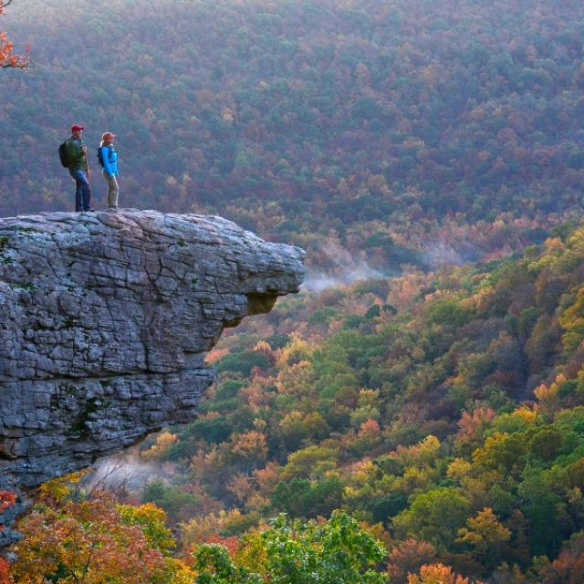 Whitaker Point - Hawksbill Crag