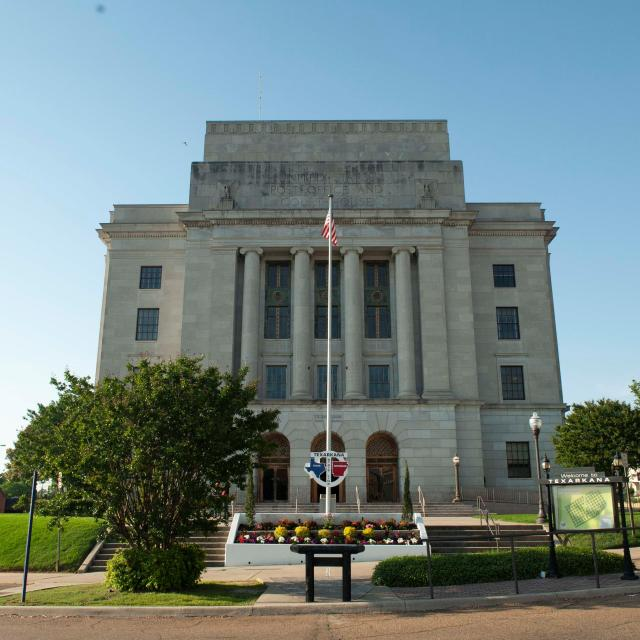 The State Line Post Office and Federal Building
