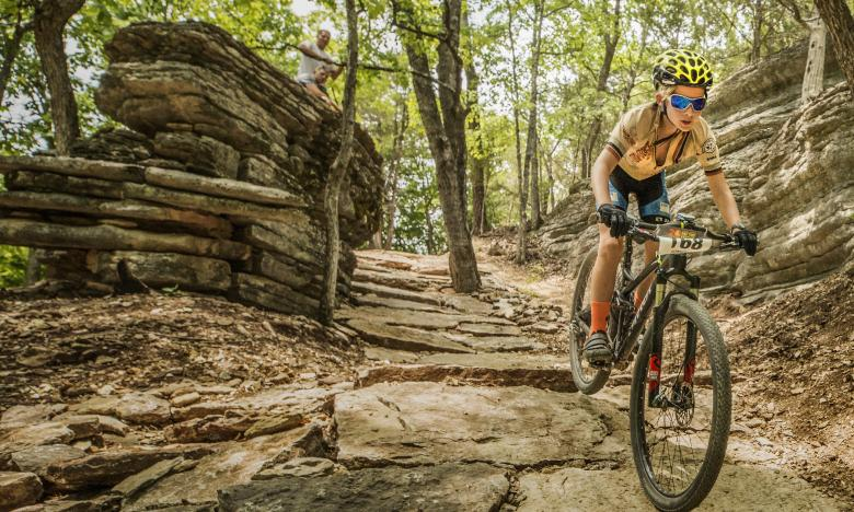 Leatherwood Phat Tire Bike Race in Eureka Springs