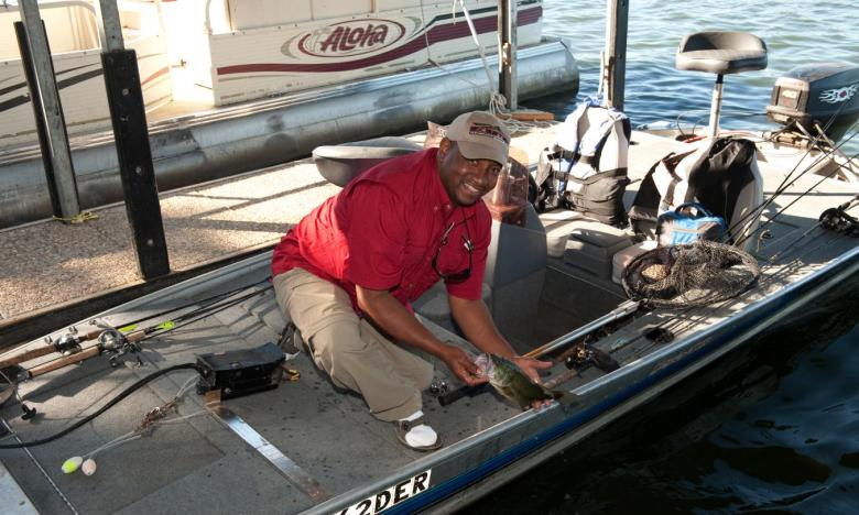 you'll find some of the best fishing around at Lake Chicot
