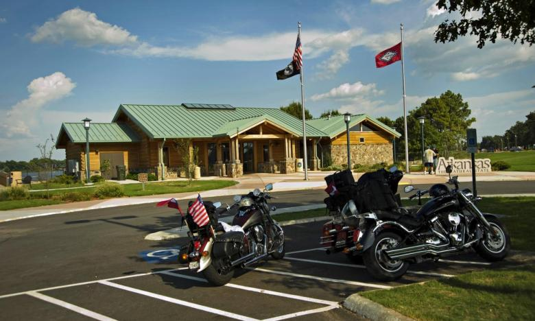 Arkansas Welcome Center at Lake Village