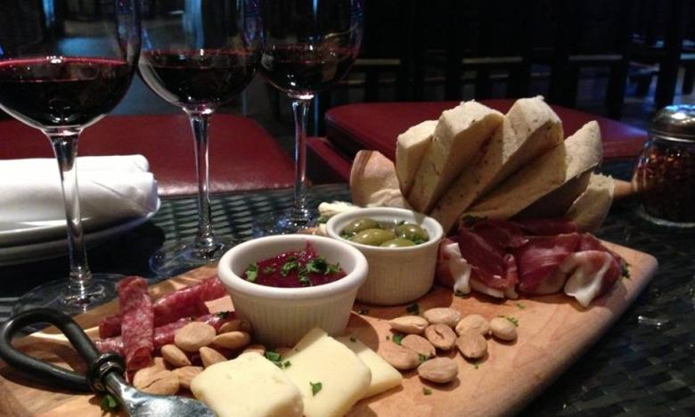 Sassafras Springs Vineyard & Winery meat and cheese tray