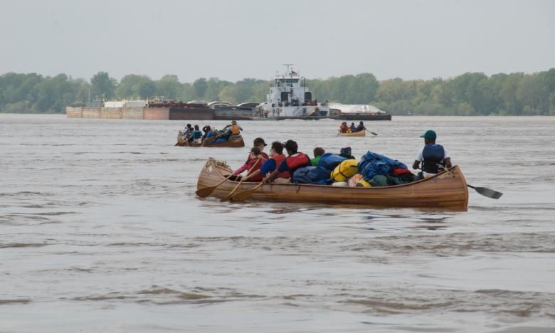 Quapaw Canoe Company in historic Helena takes canoeists on the Mighty Mississippi