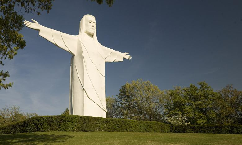 """Christ of the Ozarks"" Statue, Eureka Springs"
