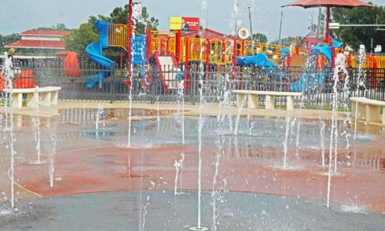 Saracen Landing Splash Park and the All-Inclusive Playground