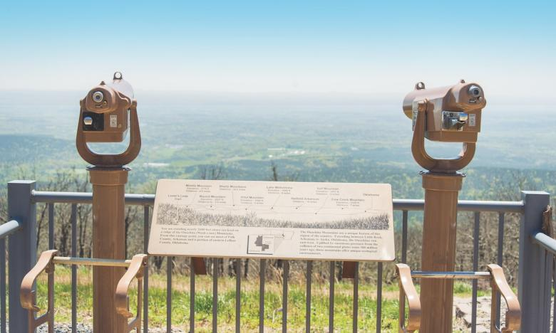 View at Queen Wilhelmina State Park