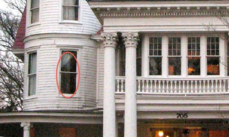 Is that Ladell Allen in the window???