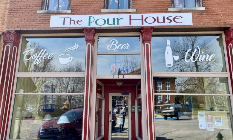 The Pour House coffee and wine bar