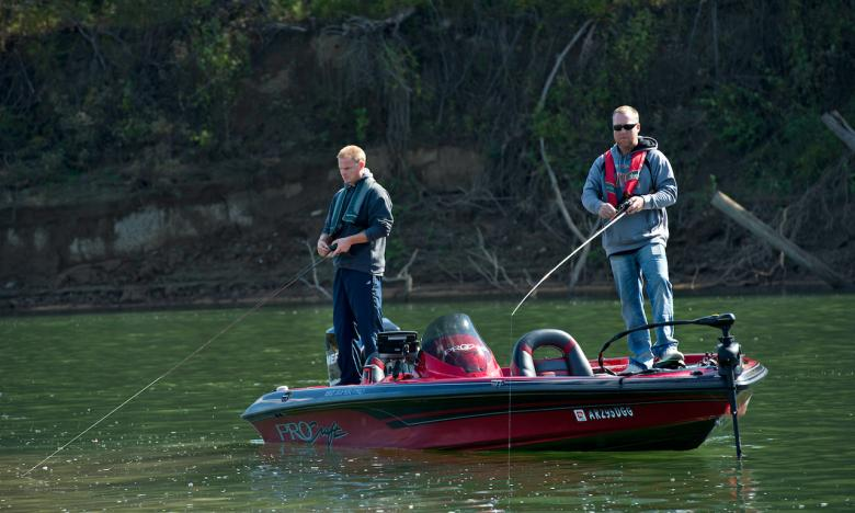 Fishing opportunities abound in the Ozarks.