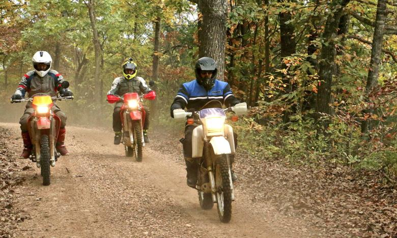 Take a dual-sport route through the Ozark National Forest.