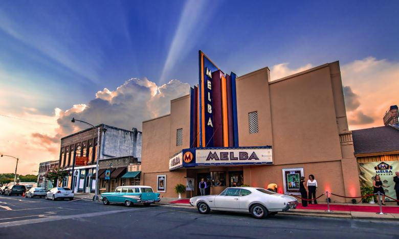 The Melba Theater is a focal point of a renovations in downtown Batesville.