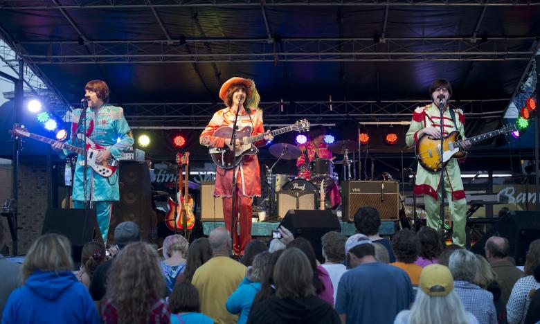 Festivals, like Beatles at the Ridge, are a highlight of an Ozark Gateway visit.