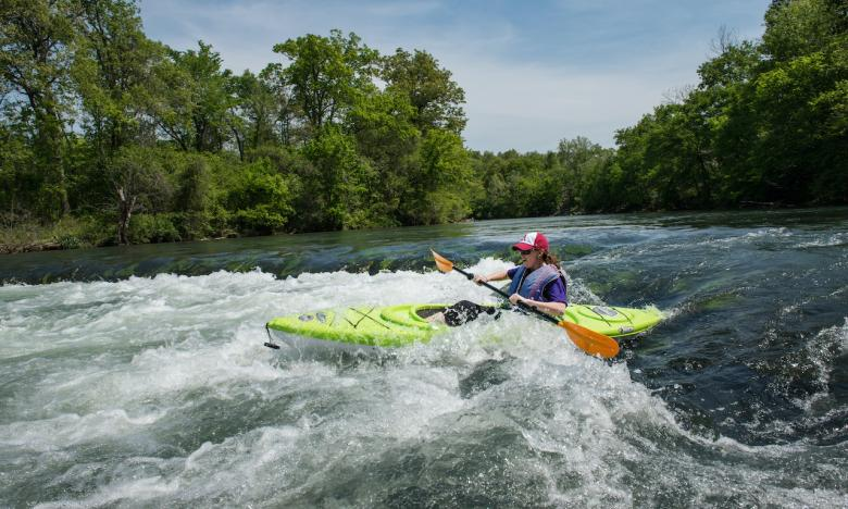 Go for an exhilarating ride down the Spring River.