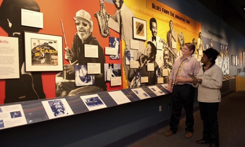 The music of the Arkansas Delta is highlighted through exhibits at the Delta Cultural Center