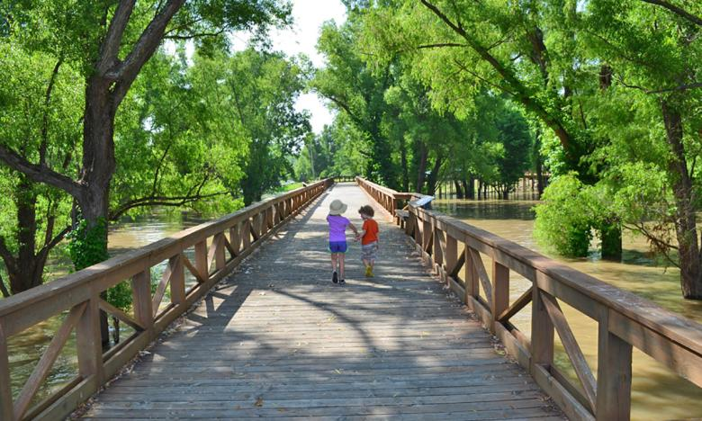 Stroll the Helena River Park
