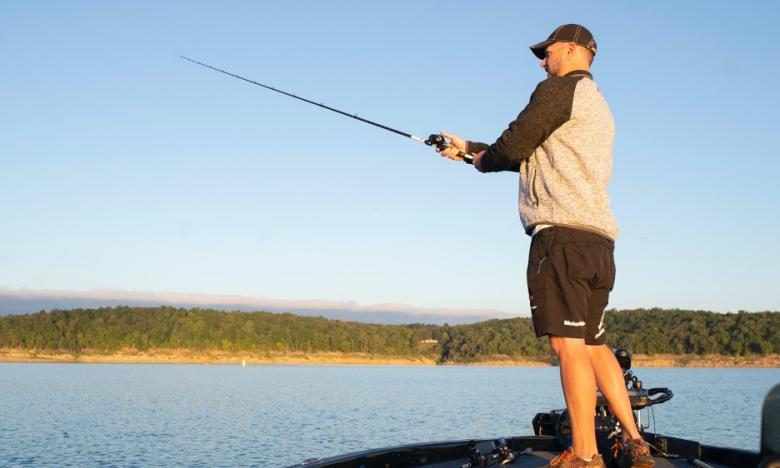 Fishing at Bull Shoals Lake