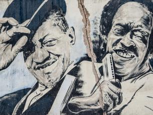 King Biscuit Blues Festival Mural