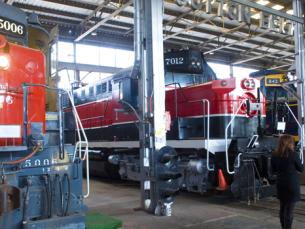 Arkansas Railroad Museum in Pine Bluff