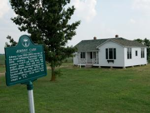 Johnny Cash Boyhood Home in Dyess