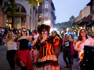 Downtown Eureka Springs Zombie Crawl photo by Edward Robison
