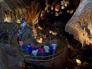 Blanchard Springs Caverns in Mountain View