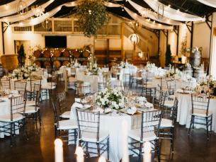 Event center at Sassafras Springs Vineyard & Winery