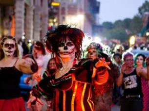 Zombie Crawl in Eureka Springs