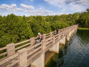 Biking in Eureka Springs