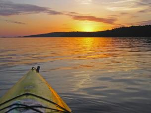 Kayaking at Lake Ouachita