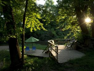 Shady River Getaway near Pocahontas
