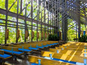 Thorncrown Chapel Virtual Tour