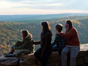 Enjoy the fall colors at Petit Jean State Park