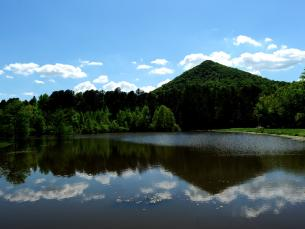 The beauty of Pinnacle Mountain State Park