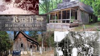 Collage of Rush Historic District