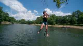 Caddo River Rope Swing