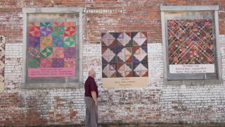 Quilt Wall in Pocahontas